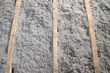 cellulose insulation in attic