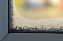 condensation on window, high humidity in home