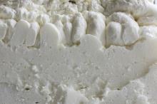 cross section of spray foam