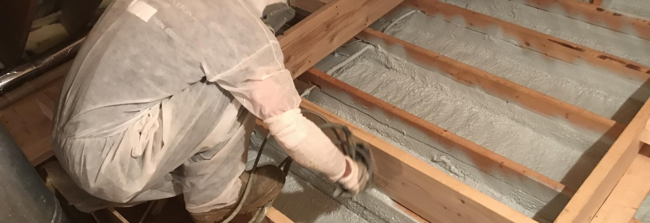 Attic Floor Application