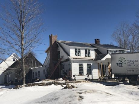 Retrofit, Weston, Vermont